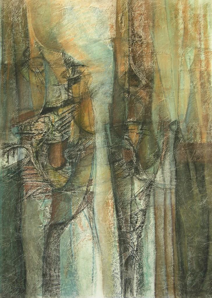 Tanja Balac Procep,70×50,pastel,2006