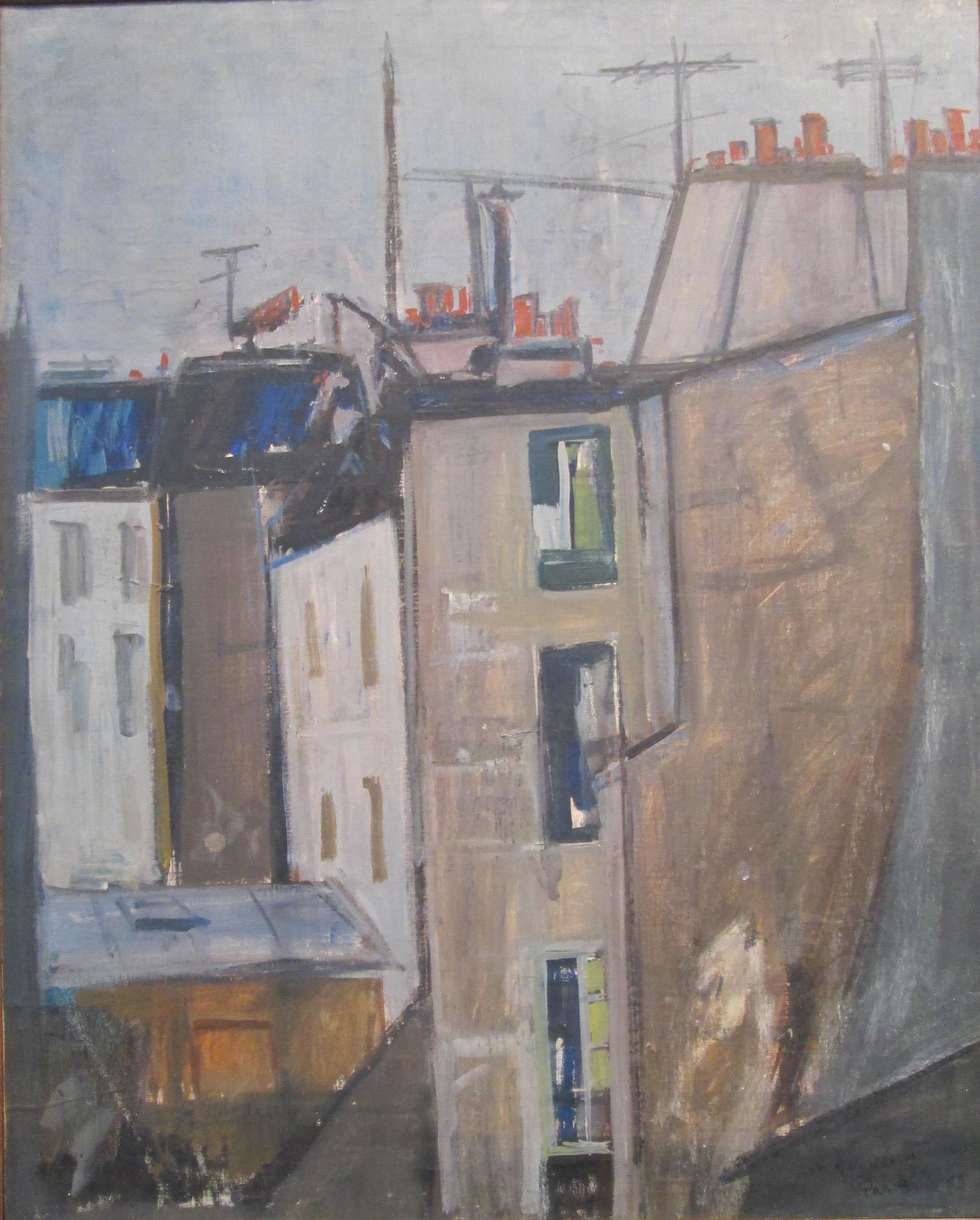 Pejzash Od Paris- Cena Na Umetnikot 3800 Evra